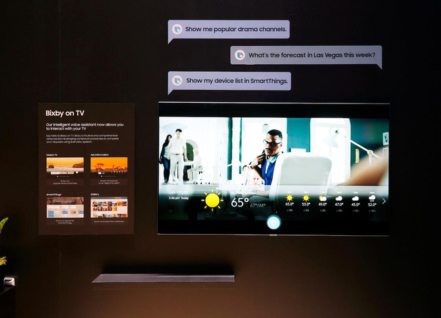 Sự kiện ra mắt TV mới của Samsung