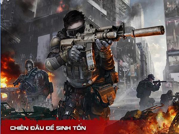 Dead Warfare: Zombie, game dành cho Android, bạn sẽ được hóa thân vào vai anh hùng để tiêu diệt những con zombie