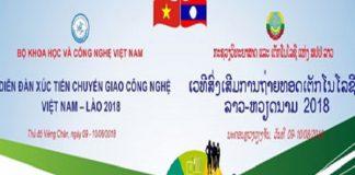 Việt Nam sẽ đưa 100 công nghệ sang Lào để trình diễn
