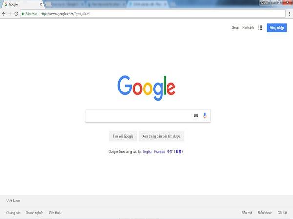 Trình duyệt web nhanh nhất đứng đầu là google