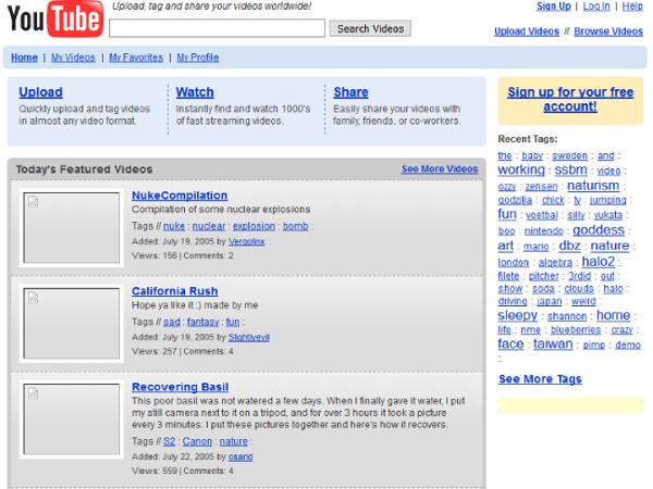 website nổi tiếng