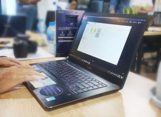 laptop ASUS ZenBook Pro UX580