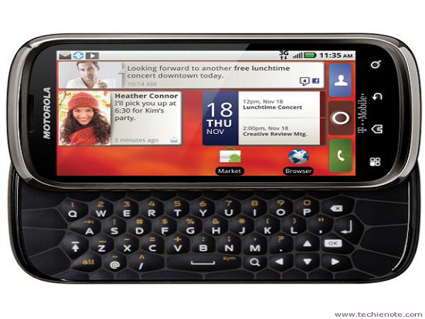 smartphone có bàn phím cứng