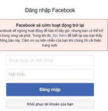 Facebook gặp sự cố dài nhất trong lịch sử