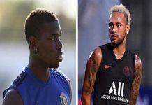 Pogba không được, Real chuyển sang Neymar