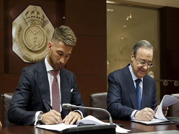 Real Madrid đề nghị gia hạn hợp đồng với Ramos
