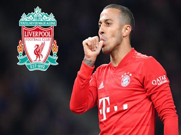 Liverpool tiến gần cơ hội có Thiago từ Bayern
