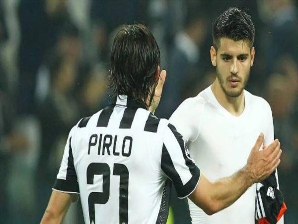 HLV Pirlo muốn đưa Morata trở lại Juventus