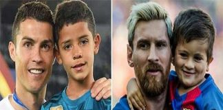 Con trai Messi hâm mộ Cristiano Ronaldo?