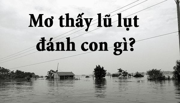 Mơ thấy lũ lụt điềm lành hay giữ