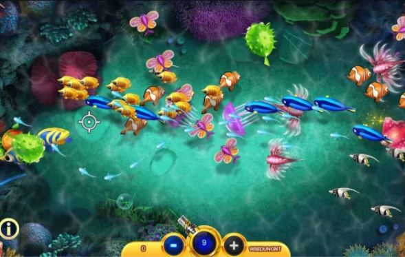 Game quy tụ một số lượng sinh vật khổng lồ với rất nhiều loại cá