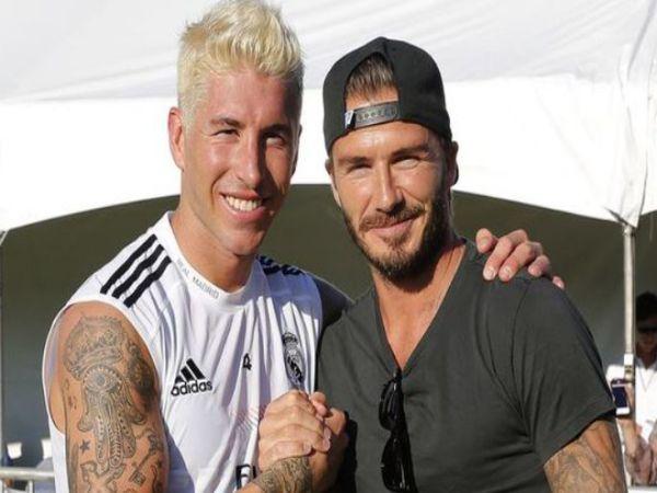 Chuyển nhượng tối 2/2: Beckham giúp MU chiêu mộ Sergio Ramos