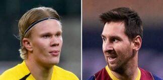 Tin chuyển nhượng 29/3: Barca chọn Haaland kế tục Messi